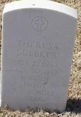SCHOLZ, THERESA LUEBKER - Pulaski County, Arkansas | THERESA LUEBKER SCHOLZ - Arkansas Gravestone Photos