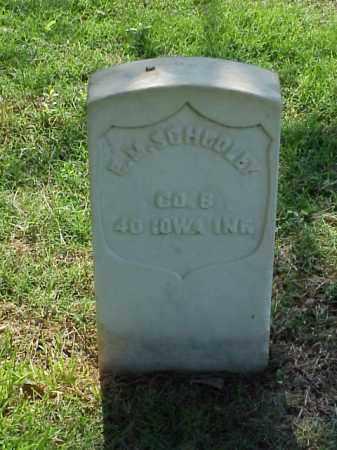 SCHOOLEY (VETERAN UNION), E M - Pulaski County, Arkansas | E M SCHOOLEY (VETERAN UNION) - Arkansas Gravestone Photos