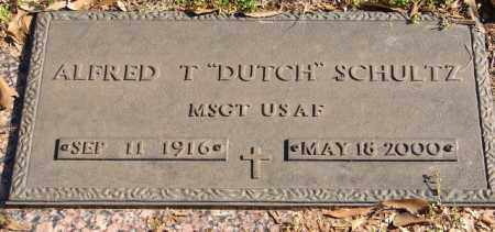 "SCHULTZ (VETERAN), ALFRED T ""DUTCH"" - Pulaski County, Arkansas 