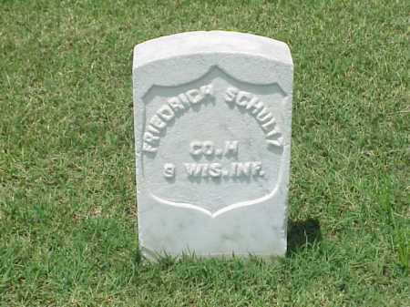 SCHULTZ (VETERAN UNION), FREDRICH - Pulaski County, Arkansas | FREDRICH SCHULTZ (VETERAN UNION) - Arkansas Gravestone Photos