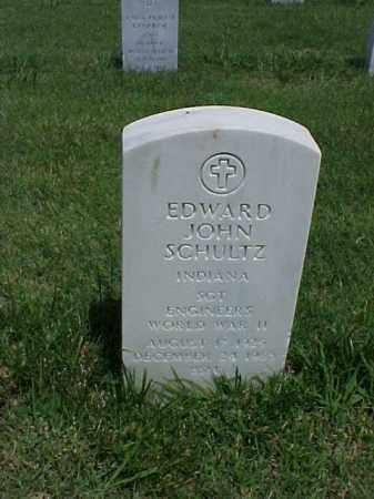 SCHULTZ (VETERAN WWII), EDWARD JOHN - Pulaski County, Arkansas | EDWARD JOHN SCHULTZ (VETERAN WWII) - Arkansas Gravestone Photos