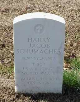 SCHUMACHER  (VETERAN WWII), HARRY JACOB - Pulaski County, Arkansas | HARRY JACOB SCHUMACHER  (VETERAN WWII) - Arkansas Gravestone Photos