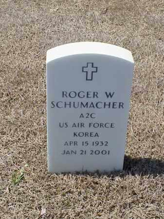 SCHUMACHER (VETERAN KOR), ROGER W - Pulaski County, Arkansas | ROGER W SCHUMACHER (VETERAN KOR) - Arkansas Gravestone Photos