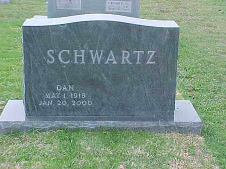 SCHWARTZ, DAN - Pulaski County, Arkansas | DAN SCHWARTZ - Arkansas Gravestone Photos