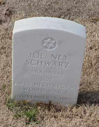 SCHWARZ (VETERAN WWI), JOE NEY - Pulaski County, Arkansas | JOE NEY SCHWARZ (VETERAN WWI) - Arkansas Gravestone Photos