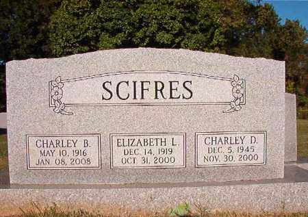 SCIFRES, CHARLEY B - Pulaski County, Arkansas | CHARLEY B SCIFRES - Arkansas Gravestone Photos