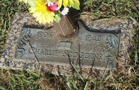 SCOGGINS, CHARLIE - Pulaski County, Arkansas | CHARLIE SCOGGINS - Arkansas Gravestone Photos