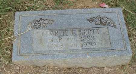 SCOTT, CHARLIE E. - Pulaski County, Arkansas | CHARLIE E. SCOTT - Arkansas Gravestone Photos