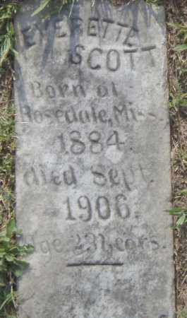 SCOTT, EVERETTE - Pulaski County, Arkansas | EVERETTE SCOTT - Arkansas Gravestone Photos