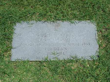 SCOTT, FLODEAN - Pulaski County, Arkansas | FLODEAN SCOTT - Arkansas Gravestone Photos
