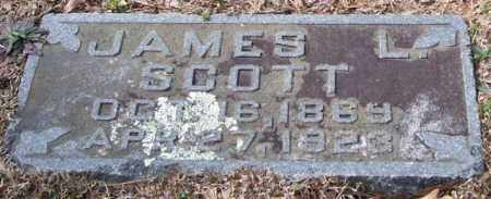 SCOTT, JAMES L. - Pulaski County, Arkansas | JAMES L. SCOTT - Arkansas Gravestone Photos
