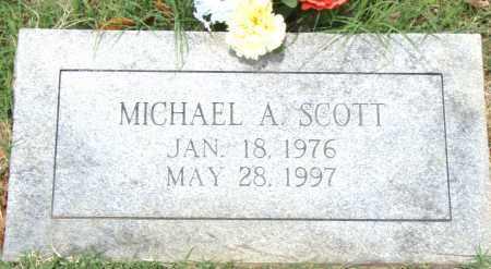 SCOTT, MICHAEL  A. - Pulaski County, Arkansas | MICHAEL  A. SCOTT - Arkansas Gravestone Photos