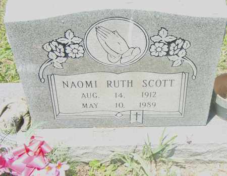 SCOTT, NAOMI RUTH - Pulaski County, Arkansas | NAOMI RUTH SCOTT - Arkansas Gravestone Photos