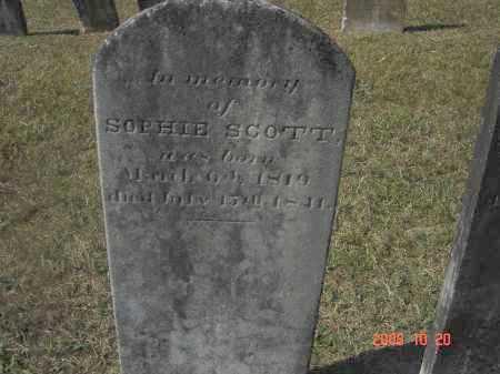 SCOTT, SOPHIE - Pulaski County, Arkansas | SOPHIE SCOTT - Arkansas Gravestone Photos