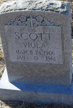 SCOTT, VIOLA - Pulaski County, Arkansas | VIOLA SCOTT - Arkansas Gravestone Photos