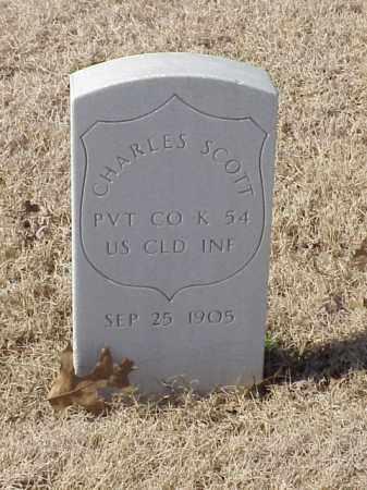 SCOTT (VETERAN UNION), CHARLES - Pulaski County, Arkansas | CHARLES SCOTT (VETERAN UNION) - Arkansas Gravestone Photos