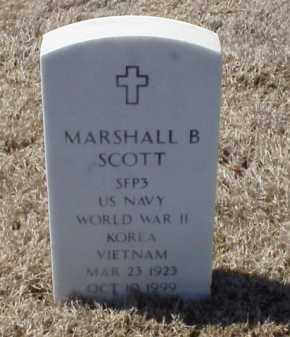 SCOTT (VETERAN 3 WARS), MARSHALL B - Pulaski County, Arkansas | MARSHALL B SCOTT (VETERAN 3 WARS) - Arkansas Gravestone Photos