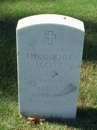 SCOTT (VETERAN KOR), THEODORE - Pulaski County, Arkansas | THEODORE SCOTT (VETERAN KOR) - Arkansas Gravestone Photos