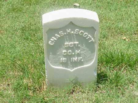 SCOTT (VETERAN UNION), CHARLES H - Pulaski County, Arkansas | CHARLES H SCOTT (VETERAN UNION) - Arkansas Gravestone Photos