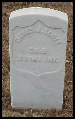 SCOTT (VETERAN UNION), DAVID J - Pulaski County, Arkansas | DAVID J SCOTT (VETERAN UNION) - Arkansas Gravestone Photos