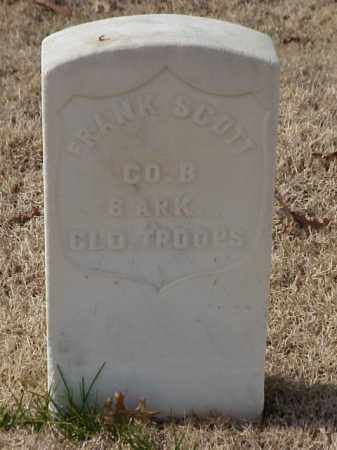 SCOTT (VETERAN UNION), FRANK - Pulaski County, Arkansas | FRANK SCOTT (VETERAN UNION) - Arkansas Gravestone Photos