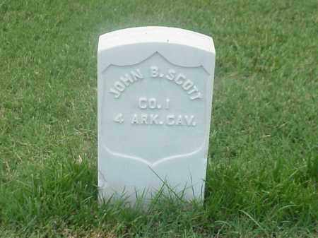 SCOTT (VETERAN UNION), JOHN B - Pulaski County, Arkansas | JOHN B SCOTT (VETERAN UNION) - Arkansas Gravestone Photos