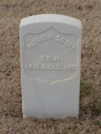 SCOTT (VETERAN UNION), PATRICK - Pulaski County, Arkansas | PATRICK SCOTT (VETERAN UNION) - Arkansas Gravestone Photos