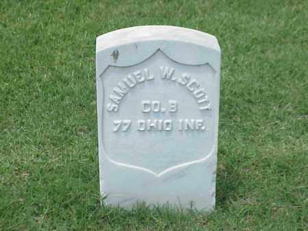 SCOTT (VETERAN UNION), SAMUEL W - Pulaski County, Arkansas | SAMUEL W SCOTT (VETERAN UNION) - Arkansas Gravestone Photos