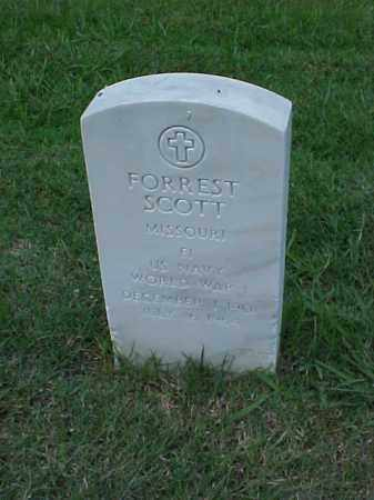 SCOTT (VETERAN WWI), FORREST - Pulaski County, Arkansas | FORREST SCOTT (VETERAN WWI) - Arkansas Gravestone Photos