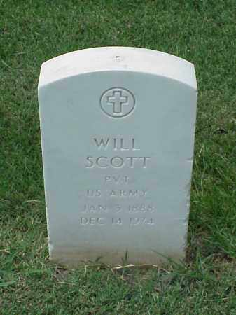 SCOTT (VETERAN WWI), WILL - Pulaski County, Arkansas | WILL SCOTT (VETERAN WWI) - Arkansas Gravestone Photos