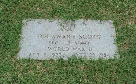 SCOTT (VETERAN WWII), DELAWARE - Pulaski County, Arkansas | DELAWARE SCOTT (VETERAN WWII) - Arkansas Gravestone Photos