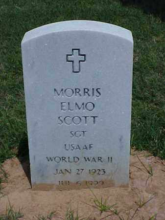 SCOTT (VETERAN WWII), MORRIS ELMO - Pulaski County, Arkansas | MORRIS ELMO SCOTT (VETERAN WWII) - Arkansas Gravestone Photos