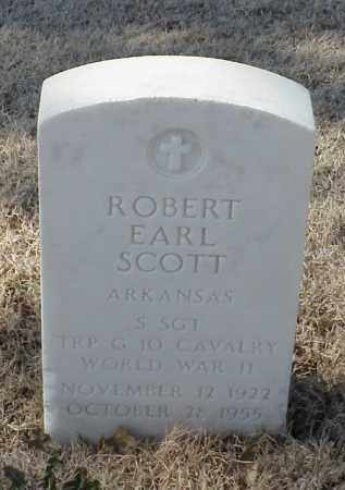 SCOTT (VETERAN (WWII), ROBERT EARL - Pulaski County, Arkansas | ROBERT EARL SCOTT (VETERAN (WWII) - Arkansas Gravestone Photos