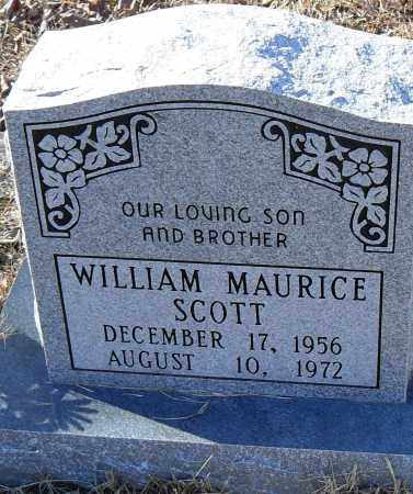 SCOTT, WILLIAM MAURICE - Pulaski County, Arkansas | WILLIAM MAURICE SCOTT - Arkansas Gravestone Photos