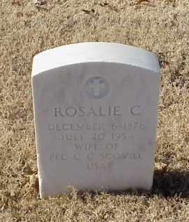 SCOVILL, ROSALIE C - Pulaski County, Arkansas | ROSALIE C SCOVILL - Arkansas Gravestone Photos