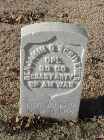 SCRIVENER (VETERAN SAW), BENJAMIN G - Pulaski County, Arkansas | BENJAMIN G SCRIVENER (VETERAN SAW) - Arkansas Gravestone Photos
