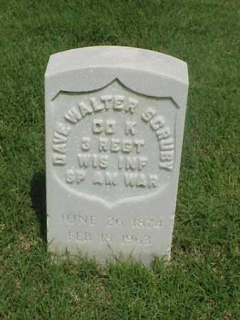 SCRUBY (VETERAN SAW), DAVE WALTER - Pulaski County, Arkansas | DAVE WALTER SCRUBY (VETERAN SAW) - Arkansas Gravestone Photos