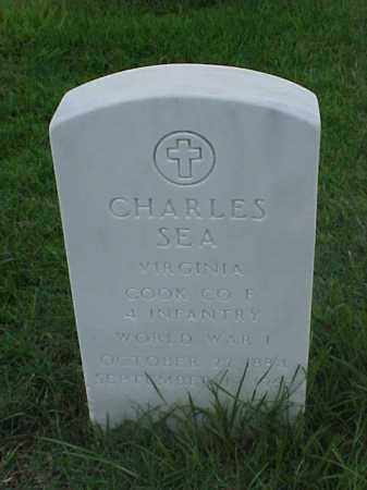 SEA (VETERAN WWI), CHARLES - Pulaski County, Arkansas | CHARLES SEA (VETERAN WWI) - Arkansas Gravestone Photos