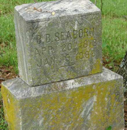 SEABORN, B. B. - Pulaski County, Arkansas   B. B. SEABORN - Arkansas Gravestone Photos