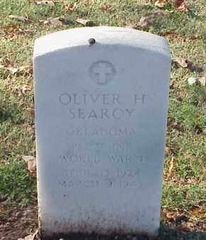 SEARCY (VETERAN WWII), OLIVER H - Pulaski County, Arkansas | OLIVER H SEARCY (VETERAN WWII) - Arkansas Gravestone Photos