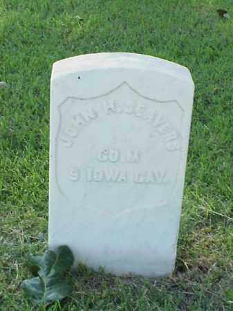 SEAVERS (VETERAN UNION), JOHN H - Pulaski County, Arkansas | JOHN H SEAVERS (VETERAN UNION) - Arkansas Gravestone Photos