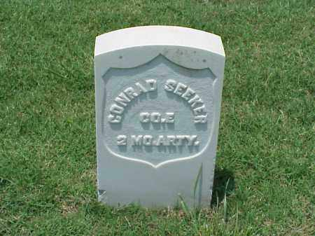 SEEKER (VETERAN UNION), CONRAD - Pulaski County, Arkansas | CONRAD SEEKER (VETERAN UNION) - Arkansas Gravestone Photos