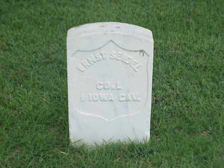 SEIDEL (VETERAN UNION), ERNST - Pulaski County, Arkansas | ERNST SEIDEL (VETERAN UNION) - Arkansas Gravestone Photos
