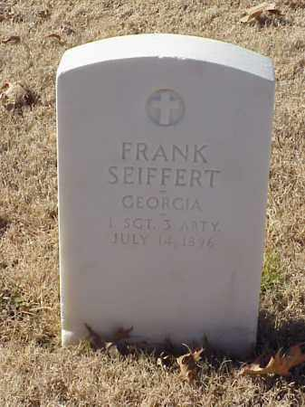 SEIFFERT (VETERAN), FRANK - Pulaski County, Arkansas | FRANK SEIFFERT (VETERAN) - Arkansas Gravestone Photos