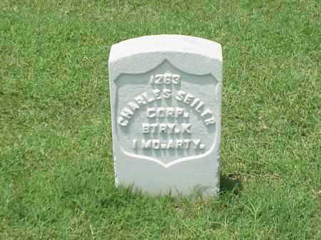 SEILER (VETERAN UNION), CHARLES - Pulaski County, Arkansas | CHARLES SEILER (VETERAN UNION) - Arkansas Gravestone Photos