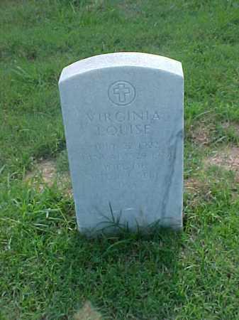 SELF, VIRGINIA LOUISE - Pulaski County, Arkansas | VIRGINIA LOUISE SELF - Arkansas Gravestone Photos