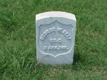 SELF (VETERAN UNION), GEORGE W - Pulaski County, Arkansas | GEORGE W SELF (VETERAN UNION) - Arkansas Gravestone Photos
