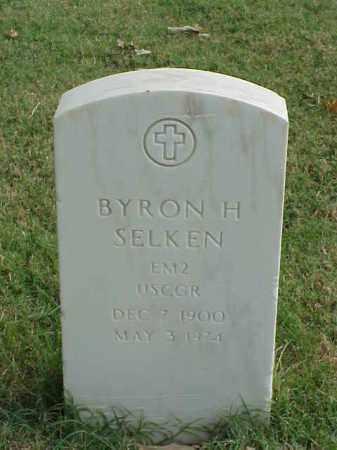 SELKEN (VETERAN WWII), BYRON H - Pulaski County, Arkansas | BYRON H SELKEN (VETERAN WWII) - Arkansas Gravestone Photos