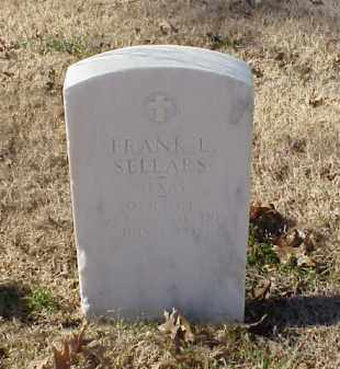 SELLARS (VETERAN), FRANK L - Pulaski County, Arkansas | FRANK L SELLARS (VETERAN) - Arkansas Gravestone Photos
