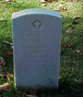 SELLERS  (VETERAN WWII), ONAIS A - Pulaski County, Arkansas | ONAIS A SELLERS  (VETERAN WWII) - Arkansas Gravestone Photos